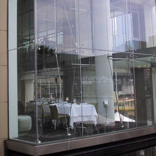 Quay Grand Sydney Australia pointFixed spiderfittings spiderclamps glasstensionwall glasswall glazinghellip