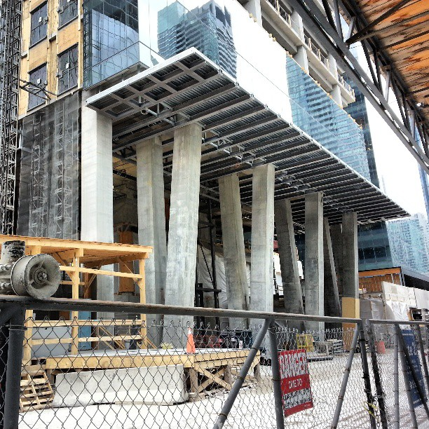Bremner Tower, Phase II of 18 York St. #Toronto #construction…